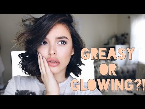 HOW TO: Get Dewy, Glowing Skin WITHOUT looking like a GREASE BALL! | CassidySecrets