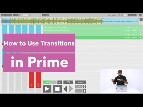Using Band Transitions with PRIME