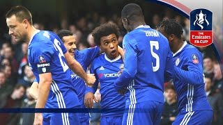 Chelsea 4-0 Brentford - Emirates FA Cup 2016/17 (R4) | Official Highlights