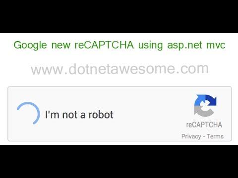 Google new reCAPTCHA using asp.net mvc