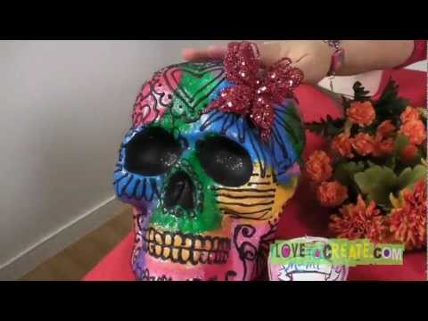 Crafty Chica Day of the Dead Sugar Skulls