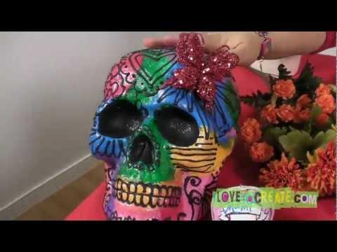 Crafty Chica Day of the Dead Sugar Skulls