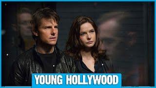 M:i 5 Star Rebecca Ferguson on Tom Cruise & Crazy Stunts!