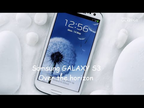 Samsung GALAXY S3 Over the horizon ringtone