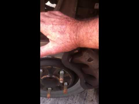 Jaguar noise from front check ball joints