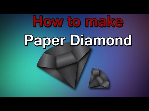 Amazing Things Made Out Of Paper #4 - DIY paper diamond