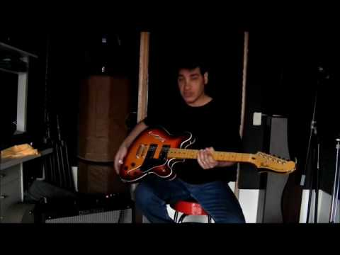 FENDER Starcaster  Clean Demo from Humbucker to Twanging Single Coil Dynasonic sound! Rockabilly