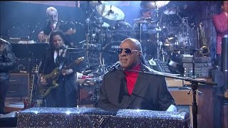 Stevie Wonder I Wish on The Late Show March 2015