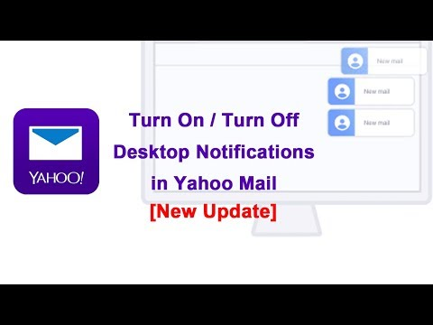 [New Update] - How to allow desktop notifications in yahoo mail