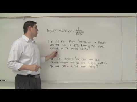 Macro 4.11- Money Multiplier & Reserve Requirement (AP Macro)