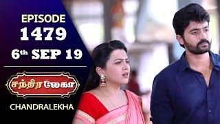 CHANDRALEKHA Serial   Episode 1479   6th Sep 2019   Shwetha   Dhanush   Nagasri   Arun   Shyam