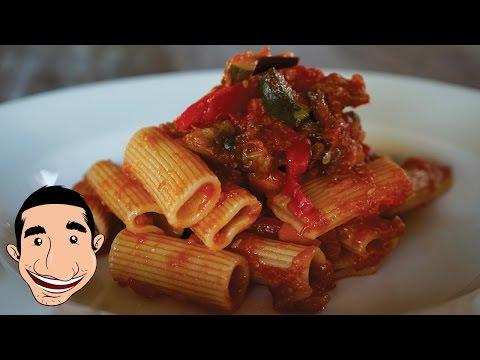 Rigatoni all'Ortolana | Vegetarian Pasta Recipes | Italian Food Recipes