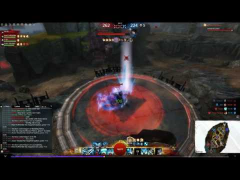 Guild Wars 2 - PvP Ranked Dragon Hunter (feat  Hensem Azure)