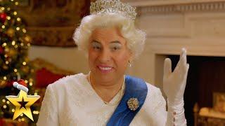 FIRST LOOK: David Walliams' Alternative Queen's Speech | BGT: Xmas