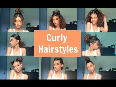 10 EASY CURLY HAIRSTYLES
