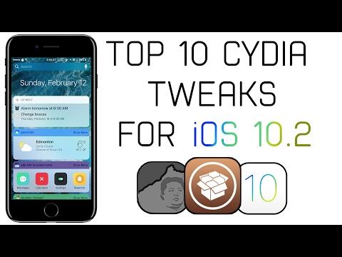 Top 10 iOS 10.2 Jailbreak Tweaks!