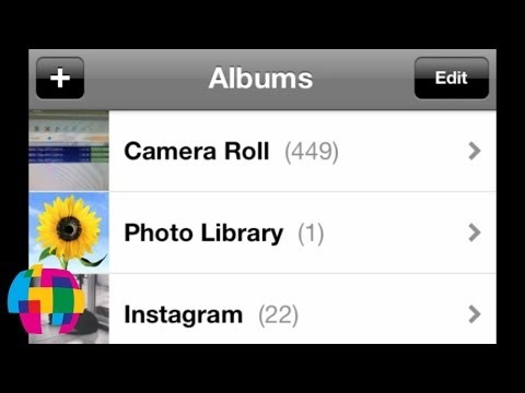 iPhone 5 - How to Delete Photos Uploaded From a Computer