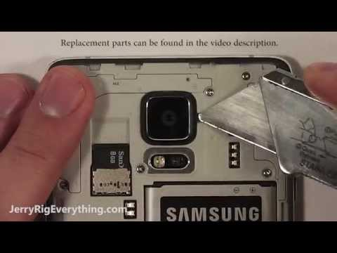 Note 4 Camera Glass Lens Replacement EASY FIX!