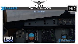 FF A320 RNV approach in rain (with effects) - PakVim net HD