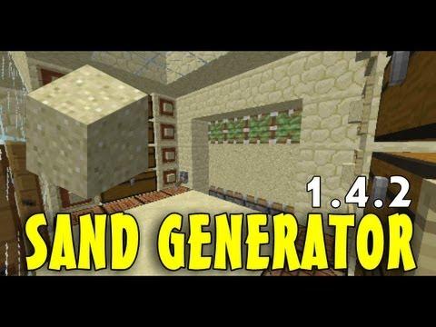 Minecraft: Sand/Gravel Generator - Redstone Tutorials 1.8