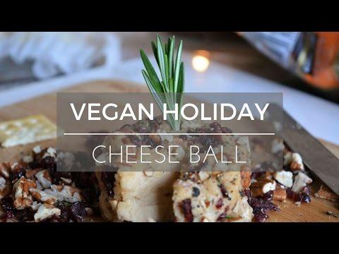 Vegan Holiday Cheese Ball