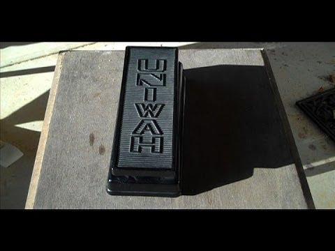 UNIVOX UNIWAH Vintage Wah Pedal Guitar Effect Crybaby Uni Wah Uni-Wah Demo