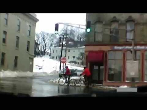 Why you shouldn't bike in the winter.