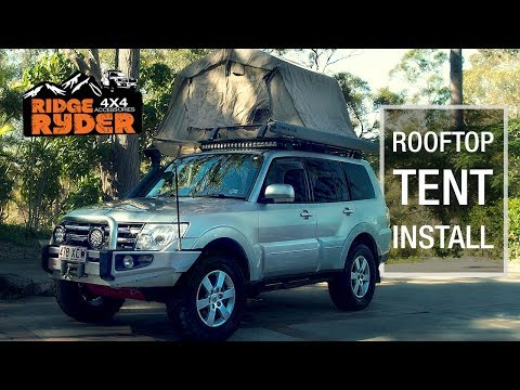 Roof Top Tent Installation // Ridge Ryder
