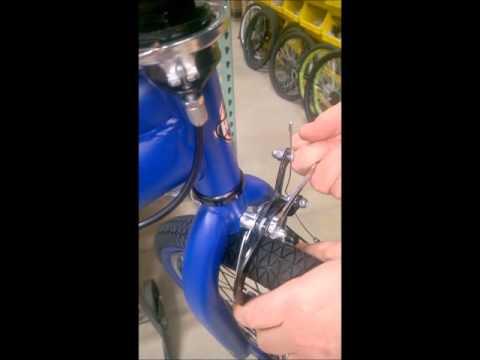 Huffy Bike sticking side pull brakes