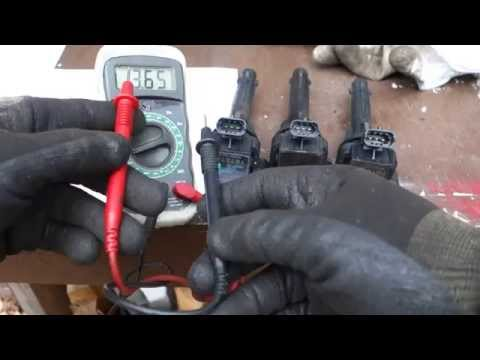 How to test Toyota Corolla ignition coil status OK or bad by basic tester ?  Years 2000 to 2016