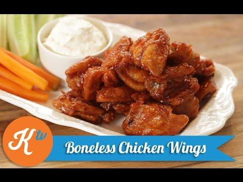 Resep Chicken Wings Tanpa Tulang (Boneless Chicken Wings Recipe Video) | YUDA BUSTARA