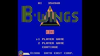 B-Wings (1986, NES) - 1 of 3: Full Longplay (All 30 Levels)[720p60]