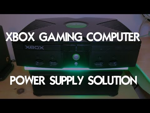 XBOX- GAMING PC- Custom mods for a Power Supply