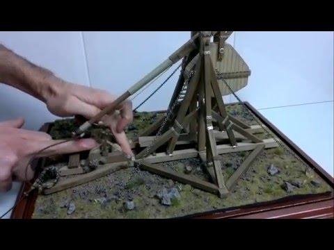 Siege machines 1: Medieval Catapult, Trebuchet