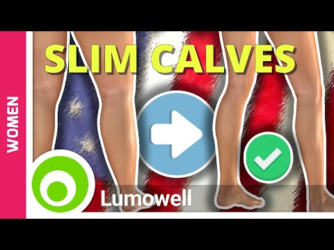 How to Get Slim Calves: 8 Minute Calves Workout for Women That Really Work