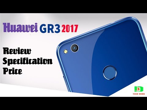 Huawei GR3 2017 Android Phone Review, Specifications & Price in Bangladesh