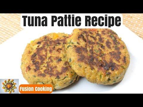 Tuna Pattie Quick Recipe | Tuna Pattie Indian Style | Tuna Cutlets Spicy