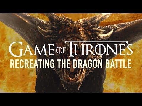 Recreating Game Of Thrones' Dragon Battle