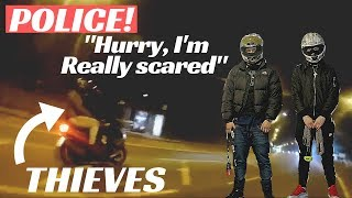 LAWLESS LONDON MOPED THIEVES TERRORISE BIKER | Moped Enabled Gangs{LegitReviews}