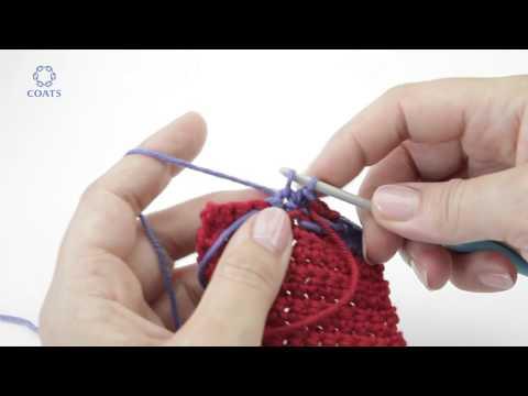 Learn How To Make a Jacquard Crochet Pattern   Crochet Advanced   German