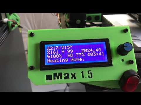 3D printing FrogFace v3