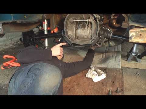Vintage VW Bus Transmission Installation - DIY German Aircooled Garage #11