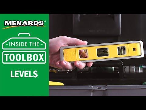 Menards - Inside the Toolbox - Levels