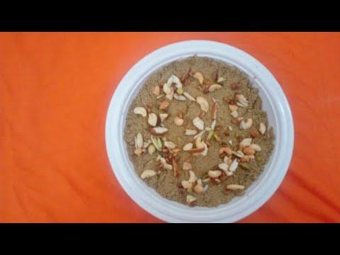 how to make panjiri in hindi