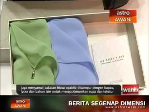 Waste2Wear (Malaysia) : Textile made from recycled plastic bottles