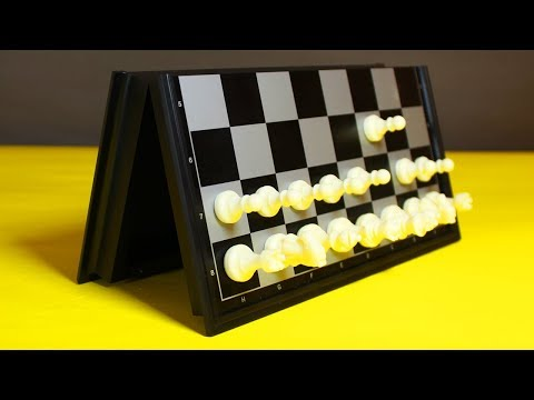 MAGNETIC CHESS UNBOXING