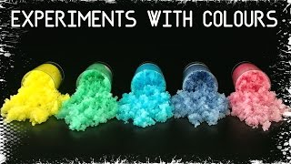 Download 3 Easy homemade experiments for kids with COLOURS Video