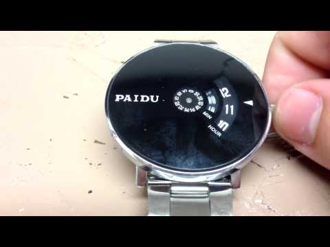 Paidu Turntable Watch Review--Can this $7 watch really be any good?