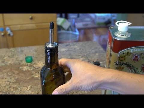 XYUN Olive Oil Bottle and Pourer Set Review