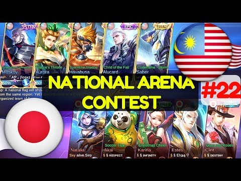 Malaysia VS Japan [3rd Game 190617]   National Arena Contest Mobile Legends